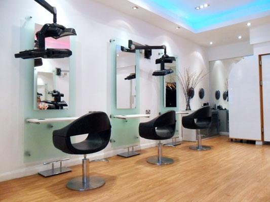 Gordon Wilson Hairdressing Salon Interior